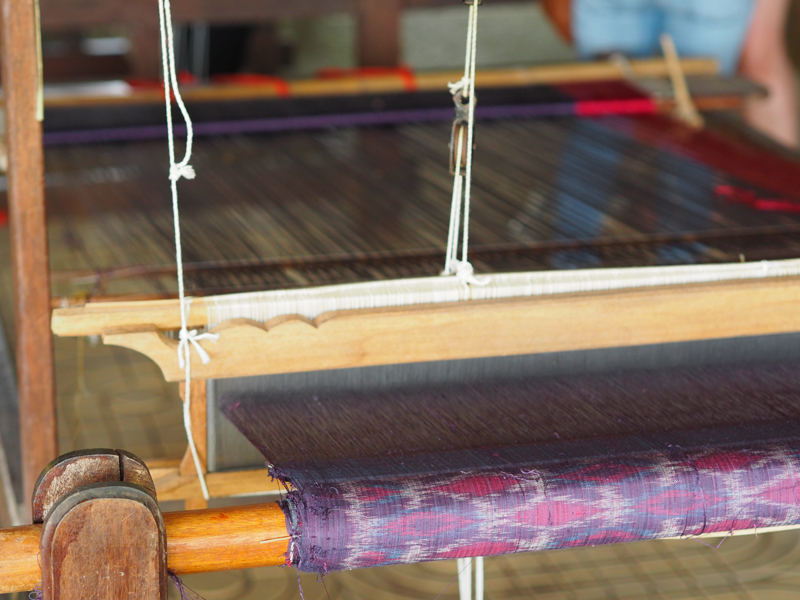 Traditional Thai silk pattern Surin