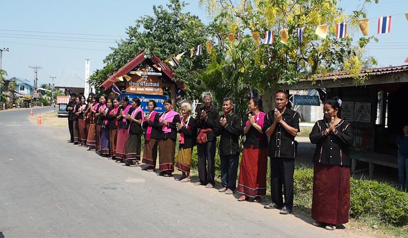 traditional village Surin Thailand