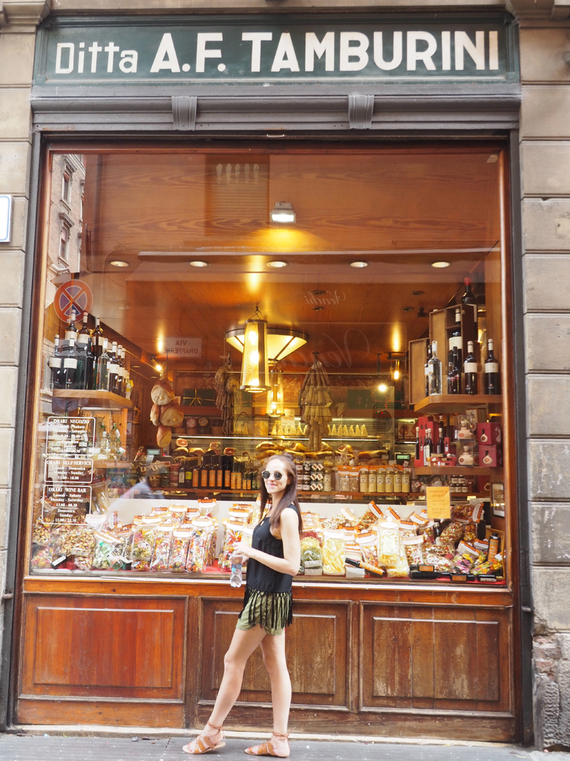 Where to eat in Bologna and where to go shopping