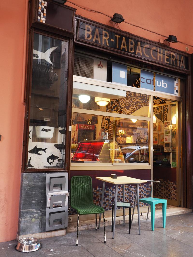 Where to go for aperitivo in Bologna caffè Rubik