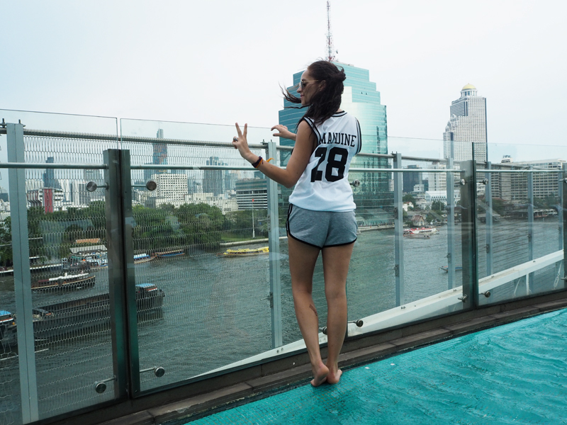 Where to sleep in Bangkok : Hilton Riverside