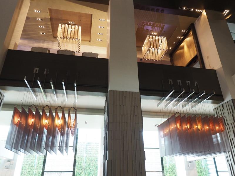 lobby Hilton Riverside Millennium hotel