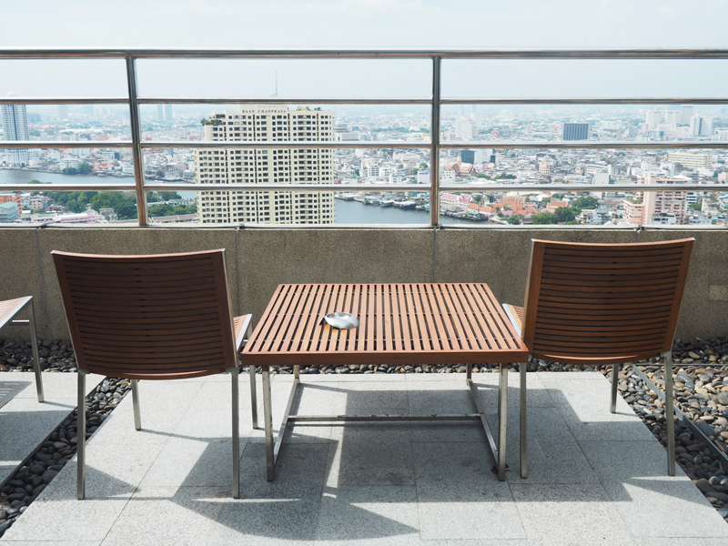 where to sleep Bangkok Hilton Riverside Millennium hotel
