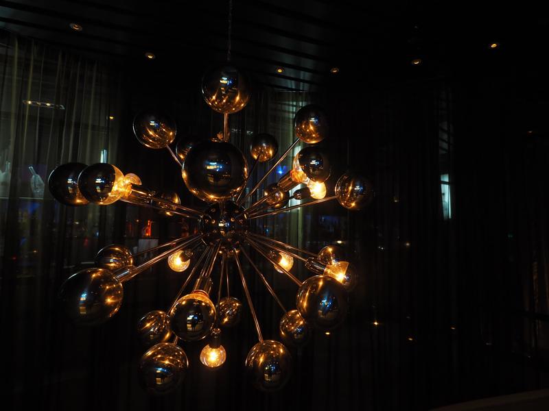 lamp Three sixty 360 bar Bangkok Hilton Riverside