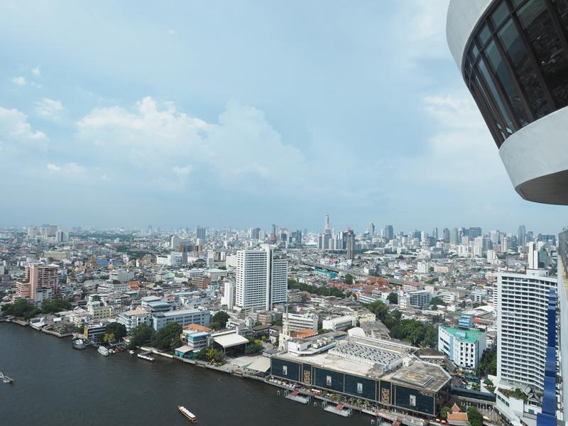 360 bar Bangkok Hilton Riverside Millennium hotel
