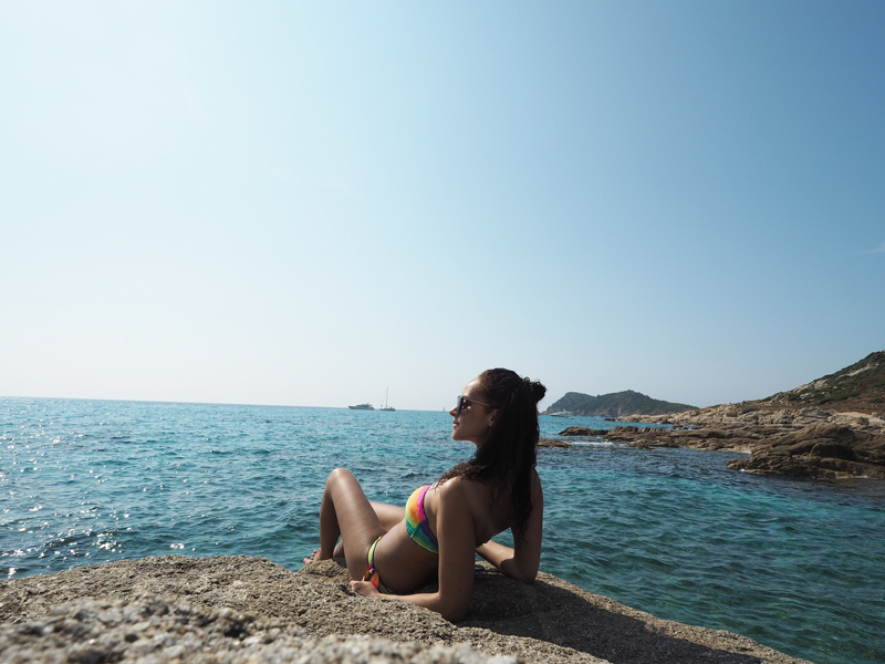 german travel blogger in Saint Tropez France