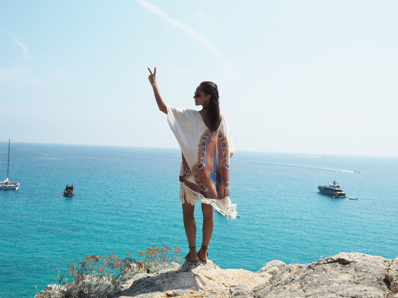 Amandine travel blogger from Germany in Saint Tropez France