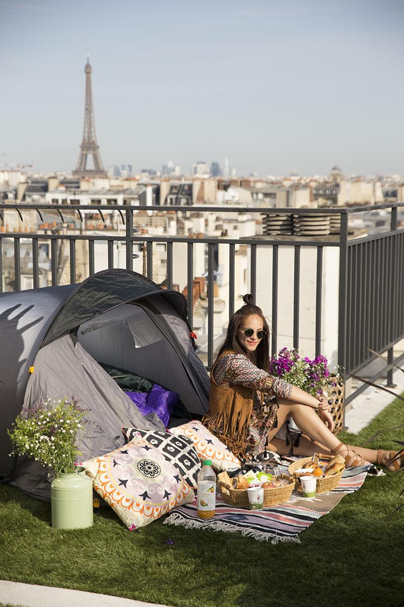 Amandine travel blogger Glamping France