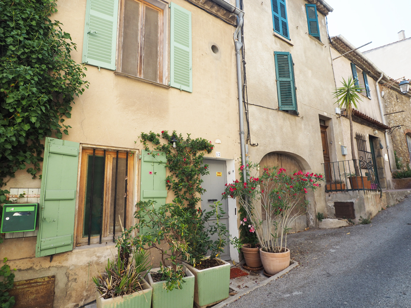 Ramatuelle village, one of these typical french towns