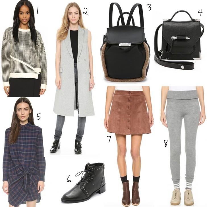 Shopbop Fall 2015 shopping picks