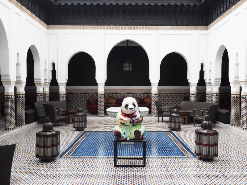 La Mamounia luxury hotel Marrakech Julien Marinetti