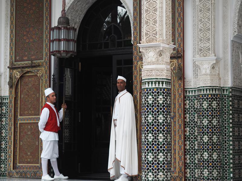 La Mamounia luxury hotel Marrakech Churchill doormen