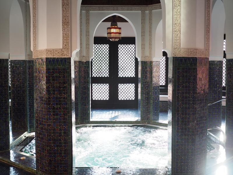 La Mamounia luxury hotel Marrakech spa
