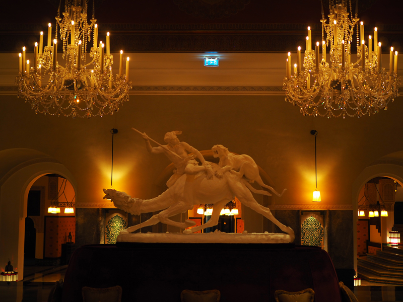 La Mamounia luxury hotel Marrakech lobby