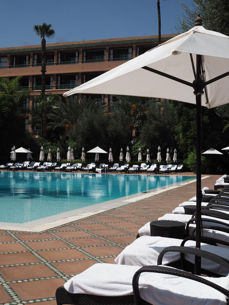 La Mamounia luxury hotel Marrakech pool