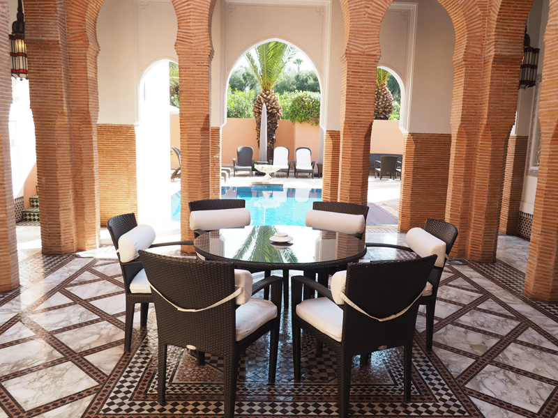 La Mamounia luxury hotel Marrakech private read