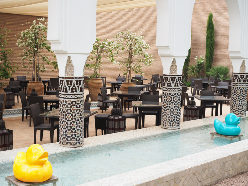 La Mamounia luxury hotel Marrakech restaurant le marocain