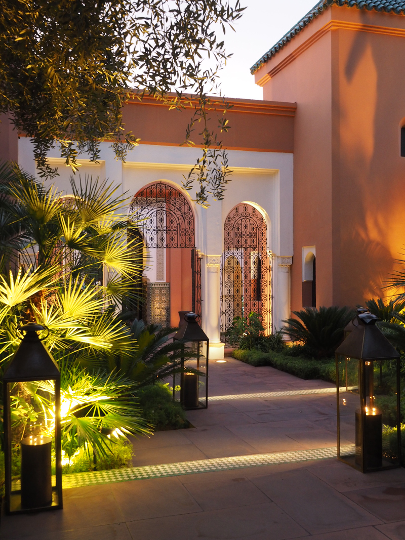 La Mamounia luxury hotel Marrakech entrance