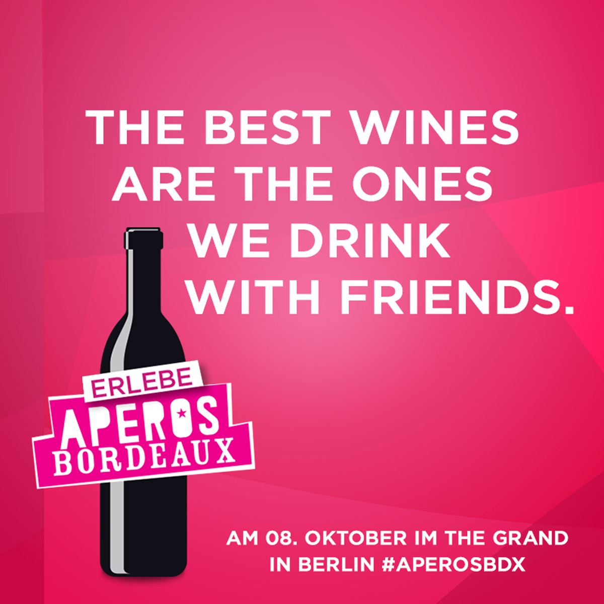 Apéros Bordeaux – Wine tasting in Berlin