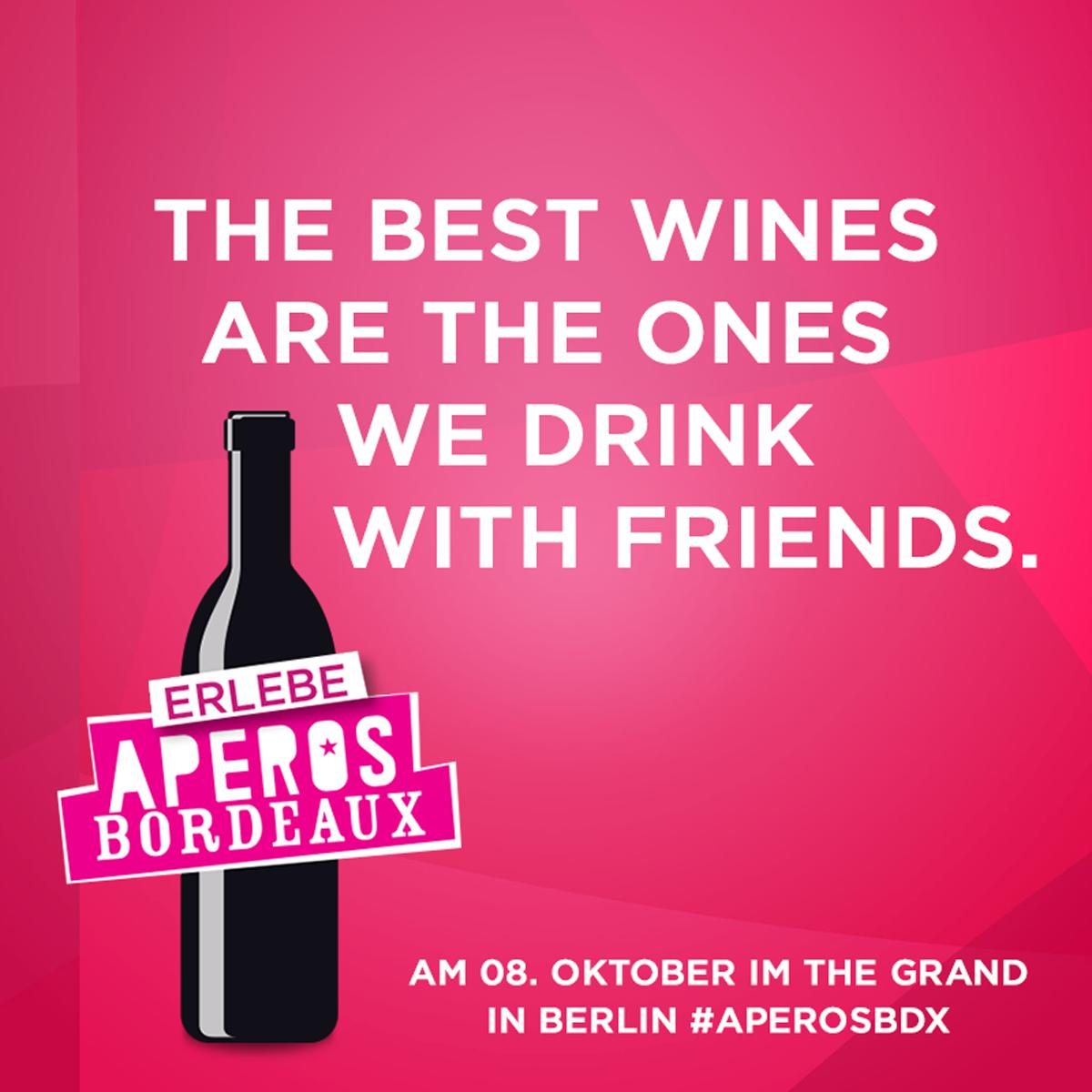Apéros Bordeaux – Wine tasting in Berlin