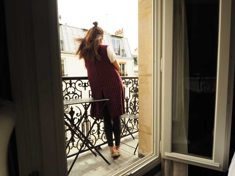 Amandine trvel blogger Paris