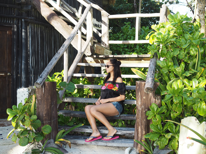 Amandine fashion blogger Tulum