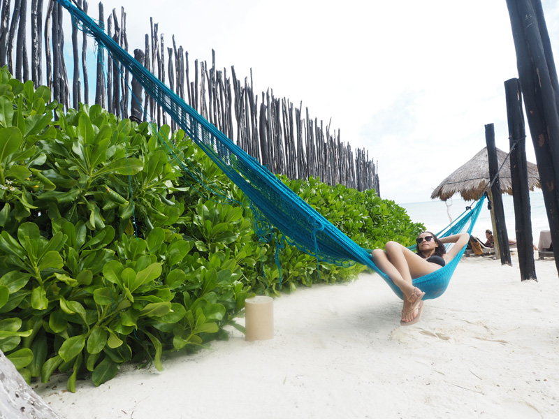 travel blogger Tulum Mexico