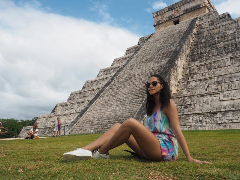 Chichen Itza travel blogger