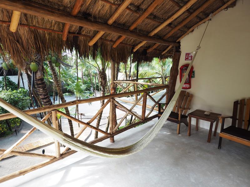 Rosa del Viento Hotel Tulum cabana