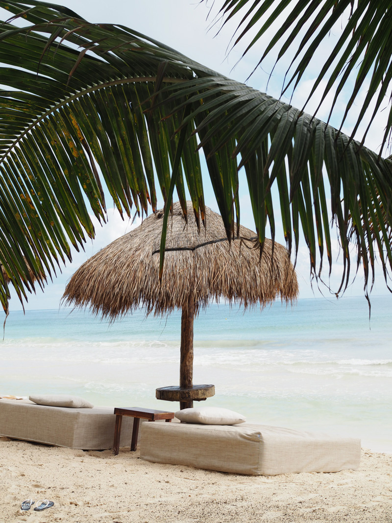Rosa del Viento Hotel Tulum beach
