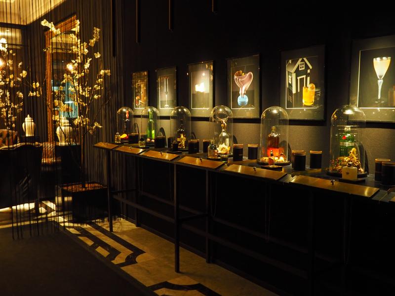 entrance Fragances bar Berlin Ritz Carlton