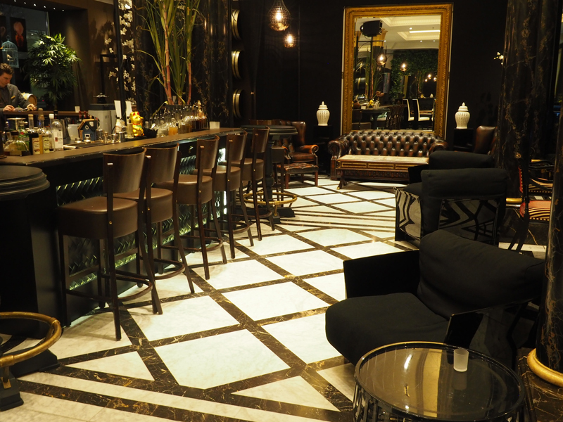 Berlin chic inside the Fragances bar Berlin Ritz Carlton