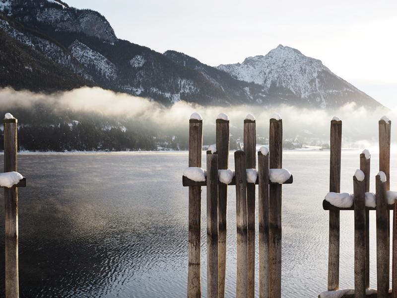Austrian lakes Pertisau am Achensee Austria