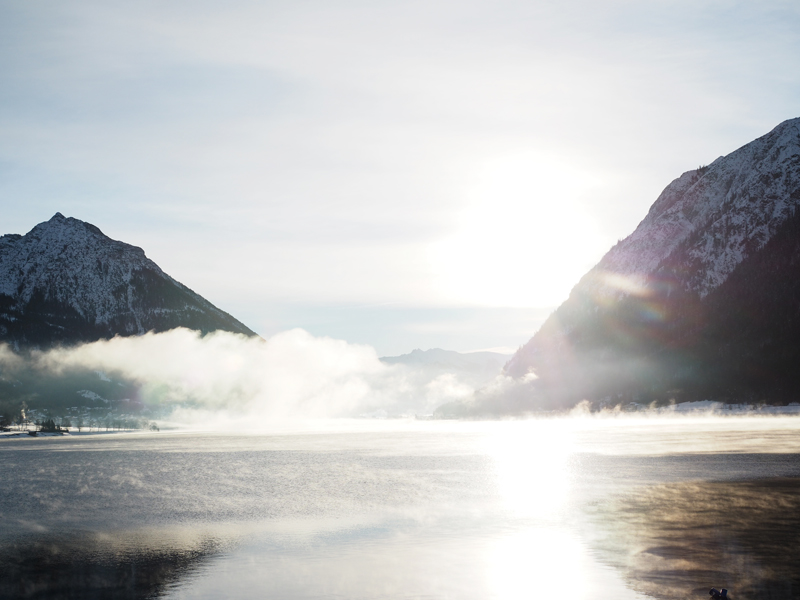 amazing landscape Achensee lake Austria