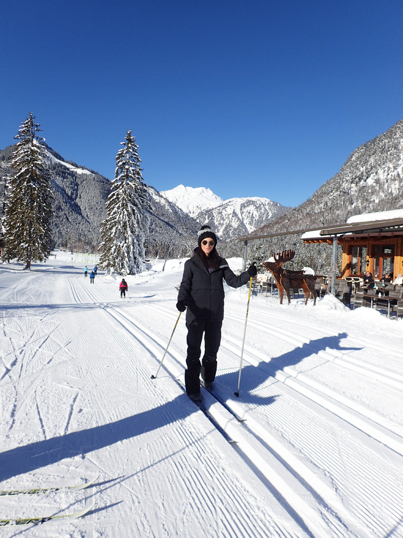 Cross country skiing Pertisau am Achensee Austria