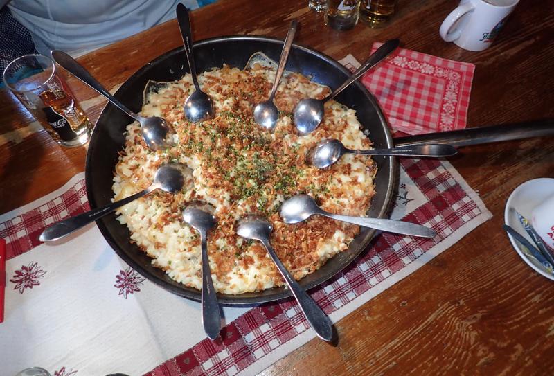 Food Tyrol Tiroler Kässpätzle