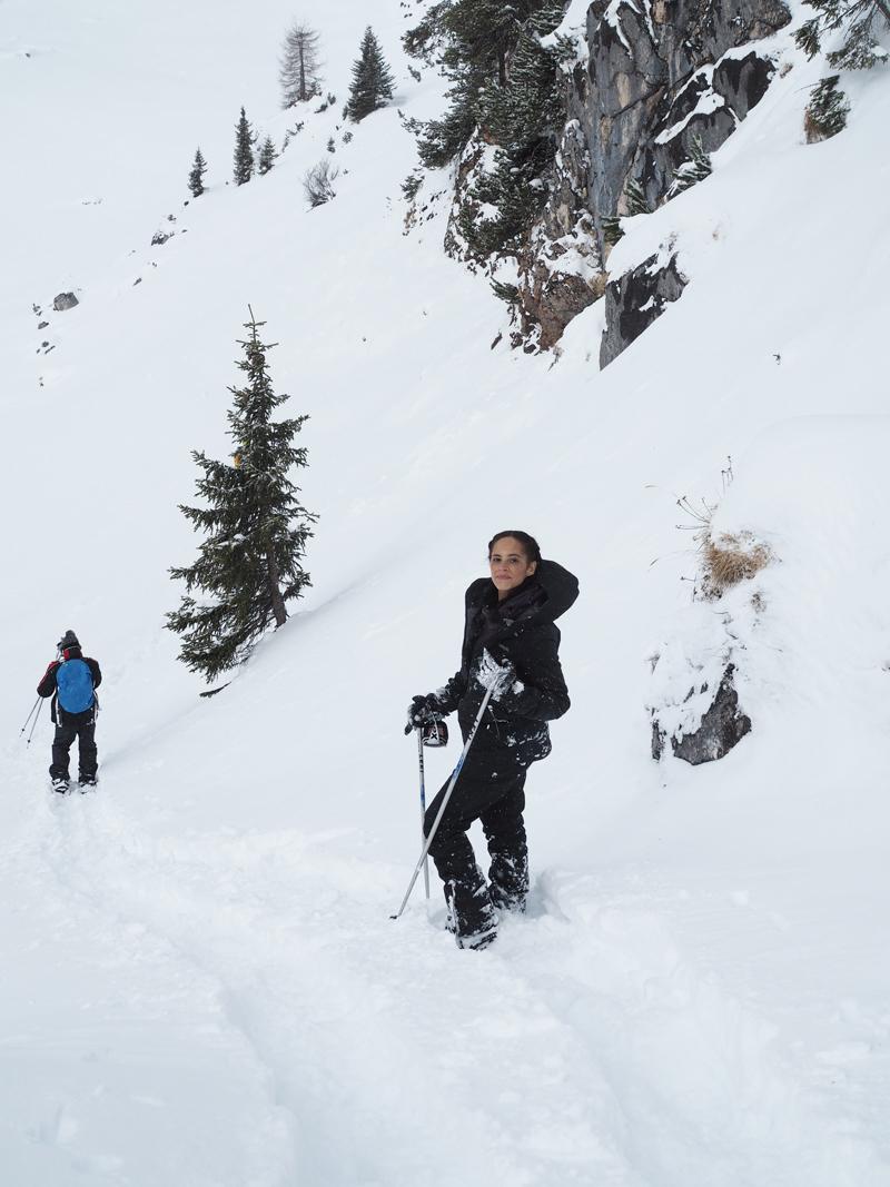 press trip winter hiking Pertisau Achensee Tyrol Austria