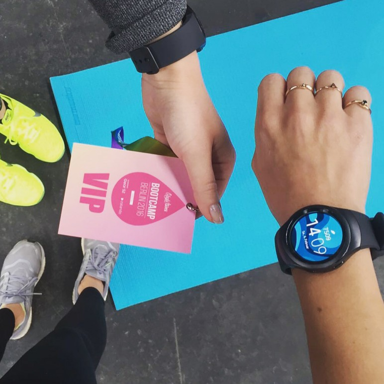 How it was – Kayla Itsines Bootcamp with Samsung smartwatch Gear S2