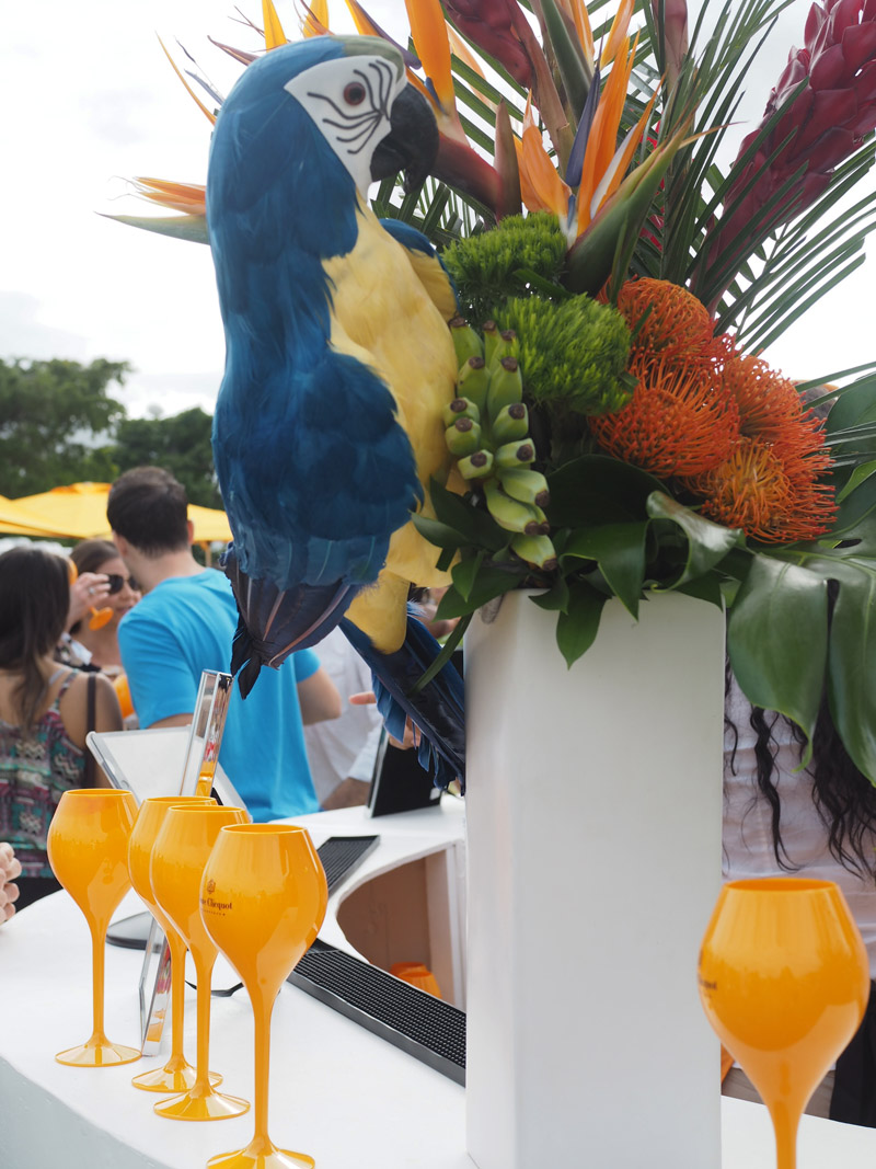 Veuve clicquot carnaval in miami les berlinettes for Decoration carnaval