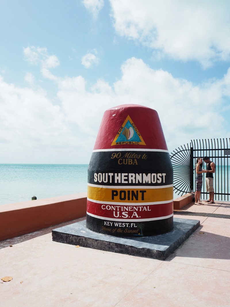Key West Southernmost point Florida USA
