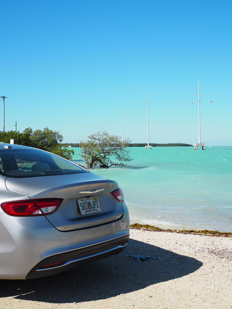 travel blogger road trip the Keys USA