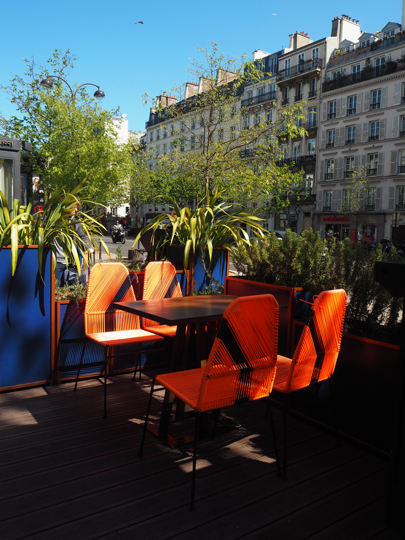 outside 1K Paris boutique hotel