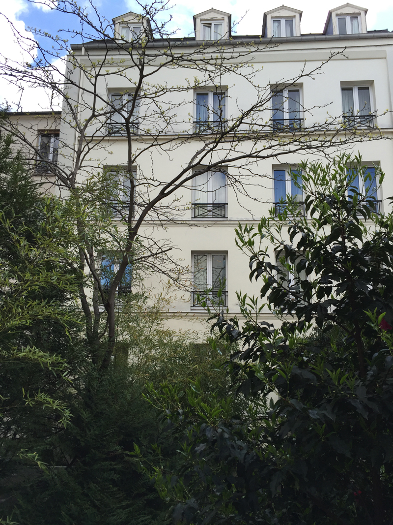 Hotel in the 11th arrondissement of Paris Le patio Saint Antoine