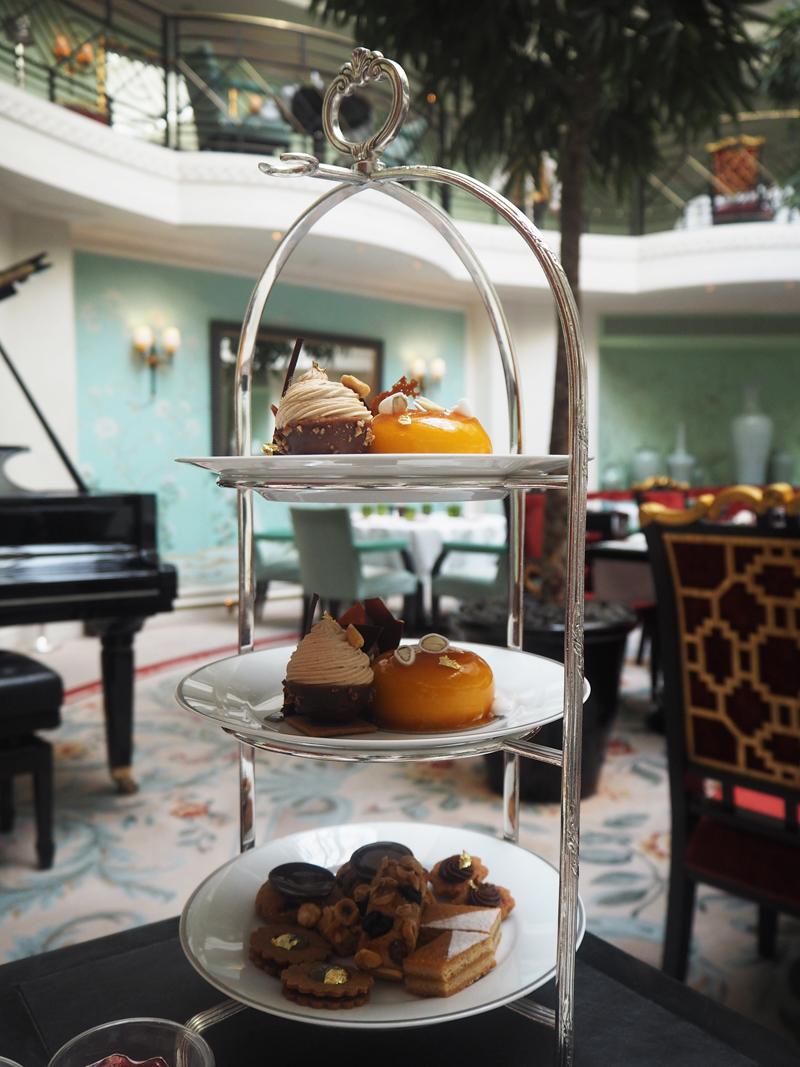 pastries La Bauhinia vegan afternoon tea Shangri La hotel Paris