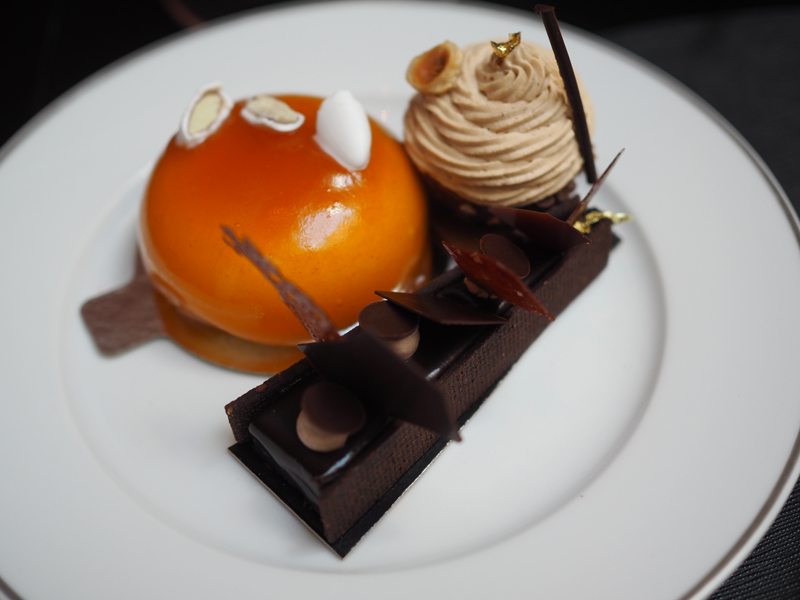 french pastries from the vegan afternoon tea at the Shangri La hotel Paris