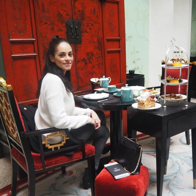 Vegan afternoon tea at Shangri La Paris