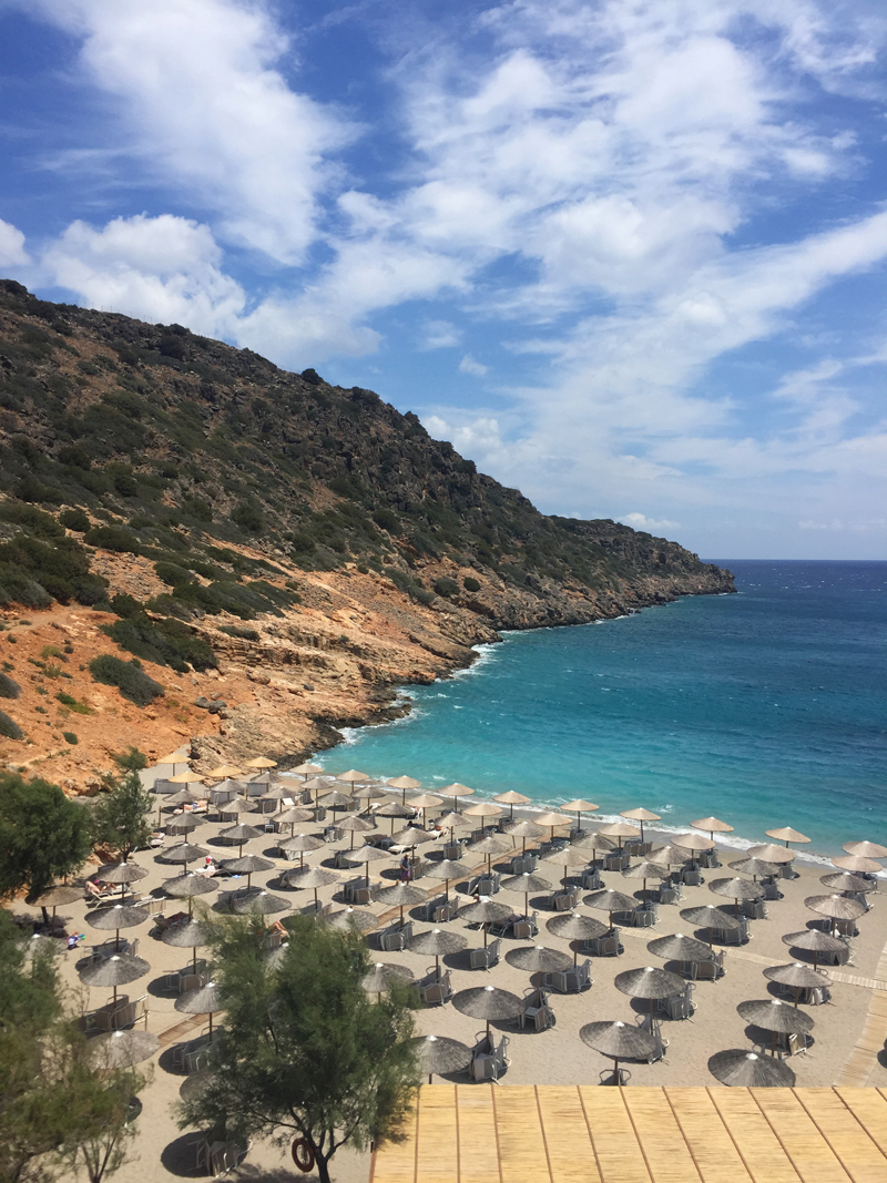 Daios Cove 5 stars hotel private beach Kreta Greece