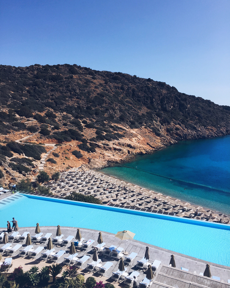 Daios Cove 5 stars hotel infinite pool Crete Greece
