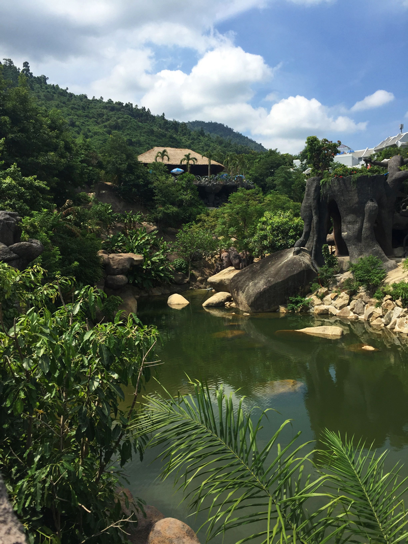 Da Nang Vietnam hot springs
