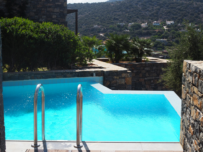 Daios Cove private pool 5 stars hotel Kreta Greece